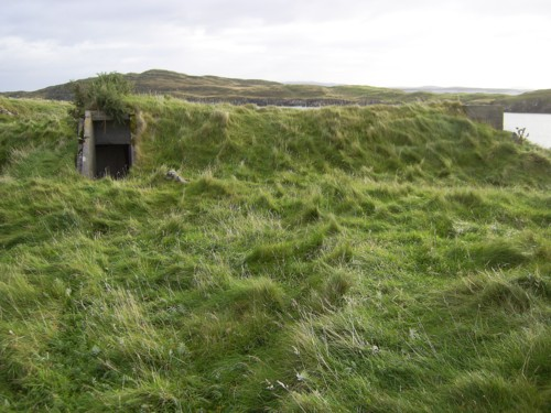 Air-raid shelter 2 at Rodel Camp