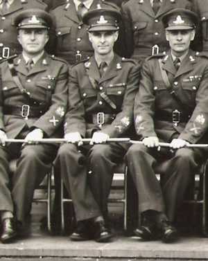 3 - Taken when I was at Larkhill after being promoted to WO1/Master Gunner, I am in the centre.