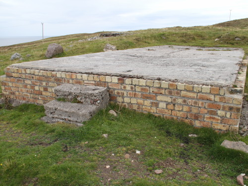 Nissen hut concrete base