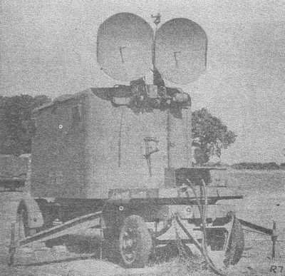 No3 Mk1 radar in operating position.